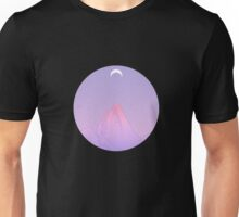 moon and mountain Unisex T-Shirt