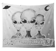 Aliens Wall Tapestry