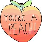 you're a peach by happyhippie08