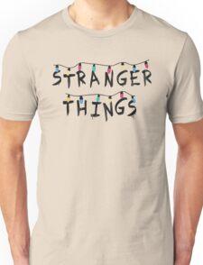 Stranger Things Fairy Lights Unisex T-Shirt