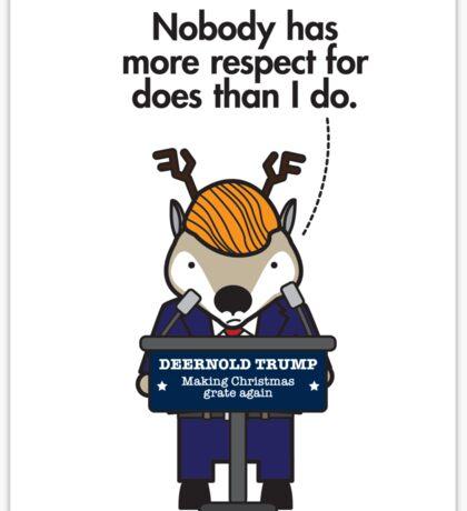 Deernold Trump Sticker