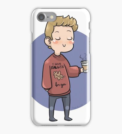 Fall Steve iPhone Case/Skin