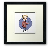 Fall Steve Framed Print