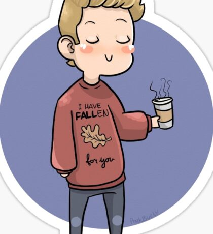 Fall Steve Sticker