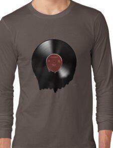 Bon Iver melting record  Long Sleeve T-Shirt