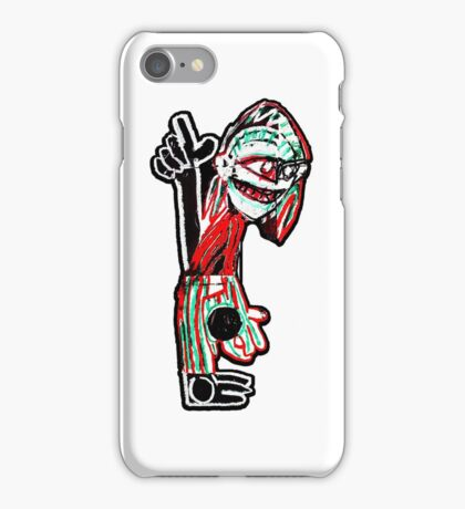 Tribe Character (A Tribe Called Quest) iPhone Case/Skin