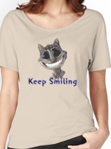 Keep Smiling Women's Relaxed Fit T-Shirt