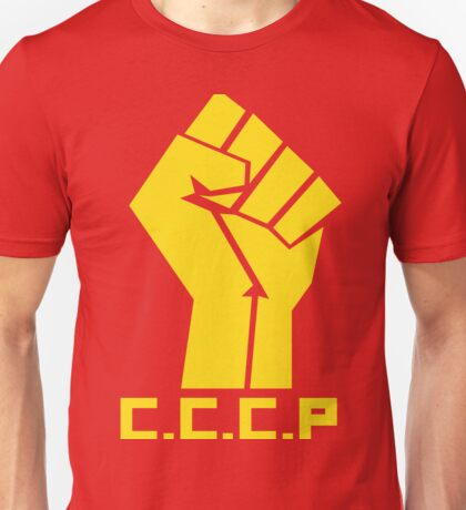CCCP Communist Hand Unisex T-Shirt