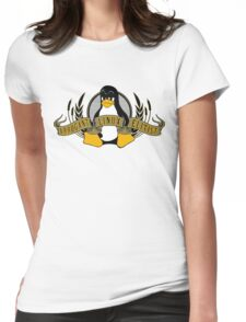 Arrogant Linux Elitist Womens Fitted T-Shirt