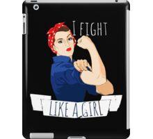 i fight like a girl  iPad Case/Skin