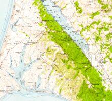 USGS TOPO Map California CA Point Reyes 298605 1954 62500 geo Sticker