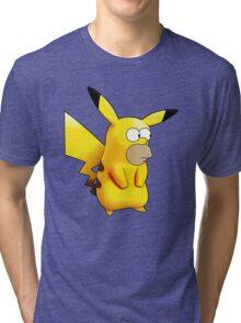 Homerkachu the Hybrid Monster Tri-blend T-Shirt