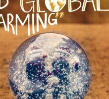 Donald Trump Quote (Global Warming) - Asian American Atlas    Sticker