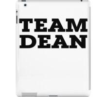 Team Dean iPad Case/Skin
