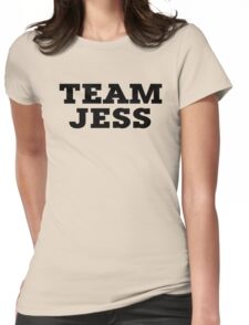 Team Jess Womens Fitted T-Shirt
