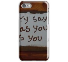 recovery says iPhone Case/Skin