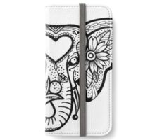 MonochromeElephant iPhone Wallet/Case/Skin