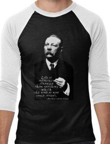 Life is Inifinitely Stranger Men's Baseball ¾ T-Shirt