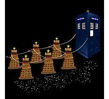A Dalek Christmas Photographic Print