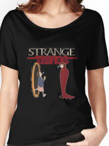 Strange Things Women's Relaxed Fit T-Shirt