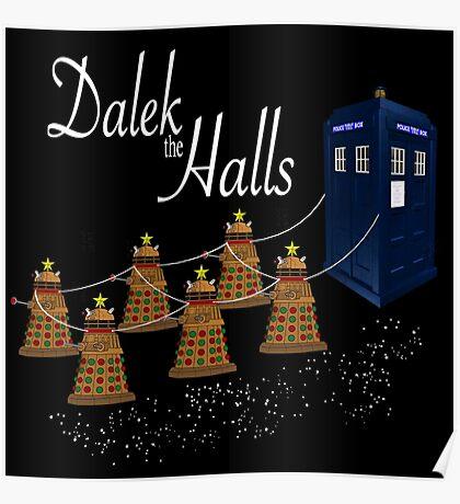 A Dalek Christmas - Dalek the Halls Poster