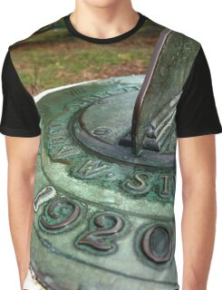 Tempus fugit in the garden Graphic T-Shirt