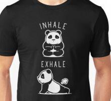 Panda Inhale Exhale Unisex T-Shirt