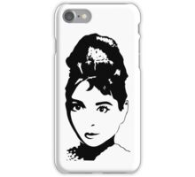 Audrey Hepburn / Holly Golightly iPhone Case/Skin