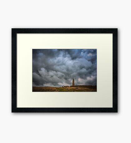 Stormy Framed Print