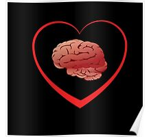 I Love Brains Poster
