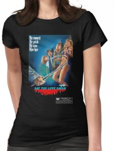 Say You Love Satan 80s Horror Podcast - Mutilator Womens Fitted T-Shirt
