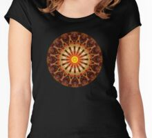 Plasmic Circle 10 Women's Fitted Scoop T-Shirt