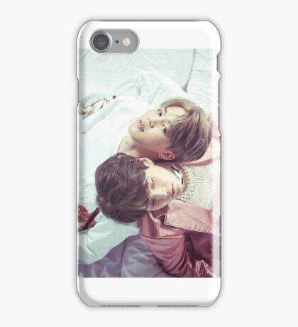 Jimin & Suga - Wings iPhone Case/Skin