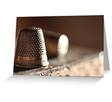 Thimble's { SOLD Image WOOOHOO thanks } Greeting Card