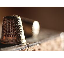 Thimble's { SOLD Image WOOOHOO thanks } Photographic Print