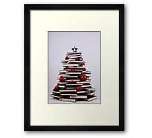 "XMAS BOOK TREE ~ OMG Sold  ""193 "" of these YAY !!! Framed Print"