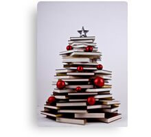 "XMAS BOOK TREE ~ OMG Sold  ""198 "" of these YAY !!! Canvas Print"