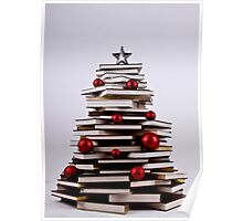 "XMAS BOOK TREE ~ OMG Sold  ""198 "" of these YAY !!! Poster"