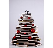 "XMAS BOOK TREE ~ OMG Sold  ""193 "" of these YAY !!! Photographic Print"