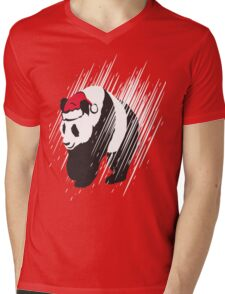 A Panda Christmas  Mens V-Neck T-Shirt