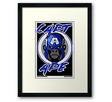Captain Ape Framed Print