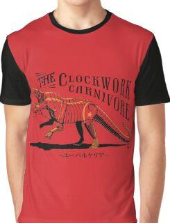 Clockwork Carnivore (Red EUPARKERIA-TYPE) Graphic T-Shirt