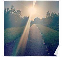 LG G5 Summer Path Poster