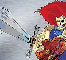 Lion-O's Last Stand by MrWetpaint