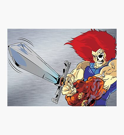 Lion-O's Last Stand Photographic Print
