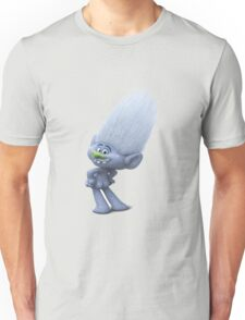 a gray glittery Troll who is always naked Unisex T-Shirt