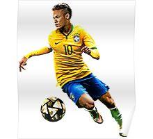 neymar brazil Poster
