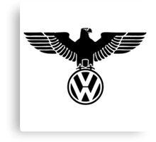 vw volkswagen eagle logo Canvas Print