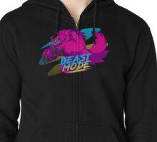- BEAST MODE -  Zipped Hoodie