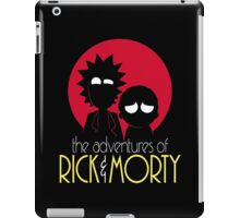 Rick and Morty Adventures A Hundred Years shirt phone ipad case pillow hoodie iPad Case/Skin
